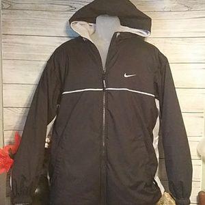 Nike reversible coat with hood